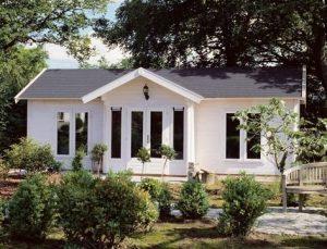 kitset log cabin tiny house
